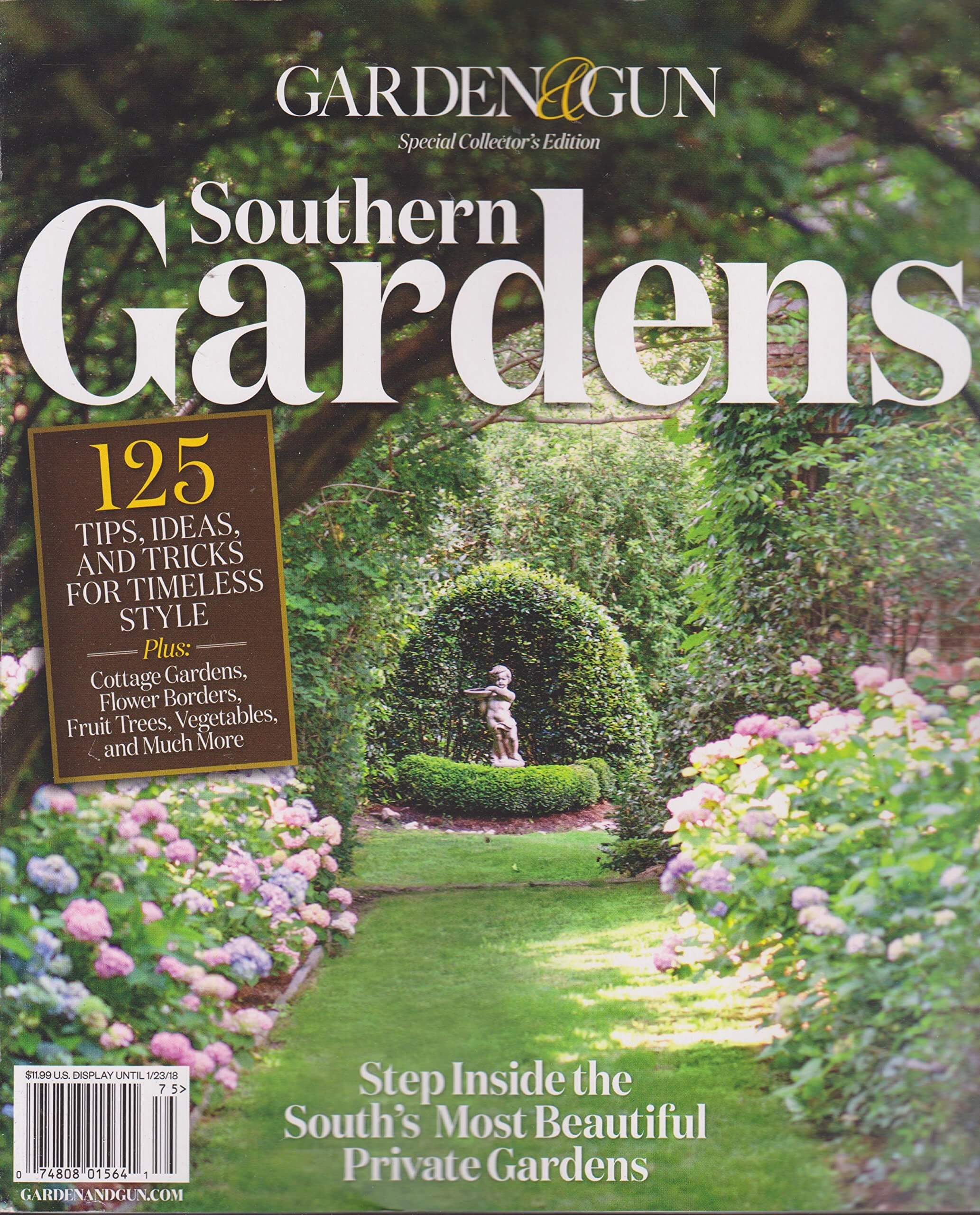 Garden and Gun Southern Gardens issue