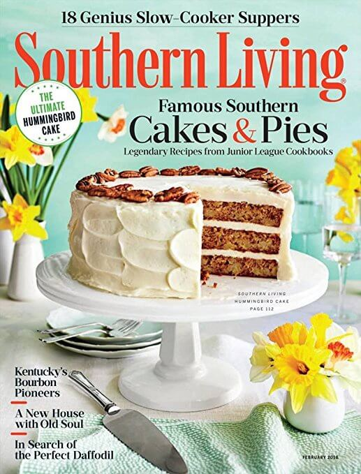 Southern Living February 2018 cover