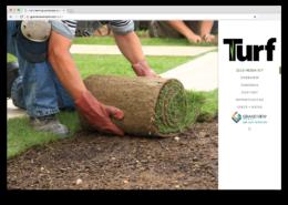Turf Digital Media Kit Home Page